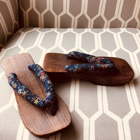 New Authentic Japanese Sandals Wooden Women's 6bf7gvYy